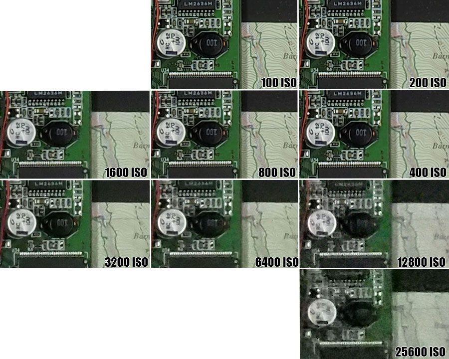 Olympus OM D E M5II ISO25600