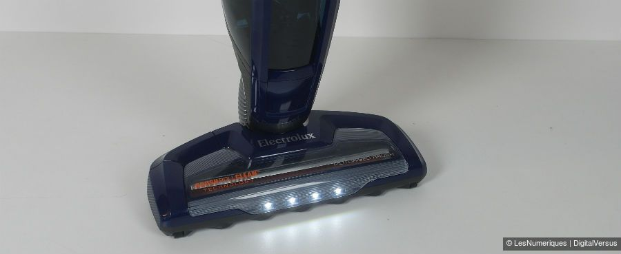 Electrolux UltraPower Plus eclairage tete