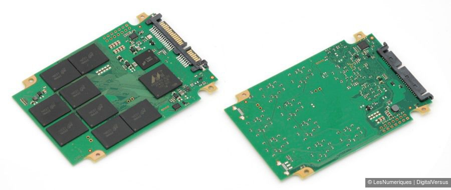 Crucial MX200 500GB pcb