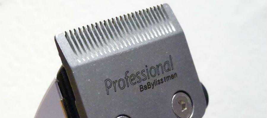 Coupe de cheveux avec tondeuse babyliss