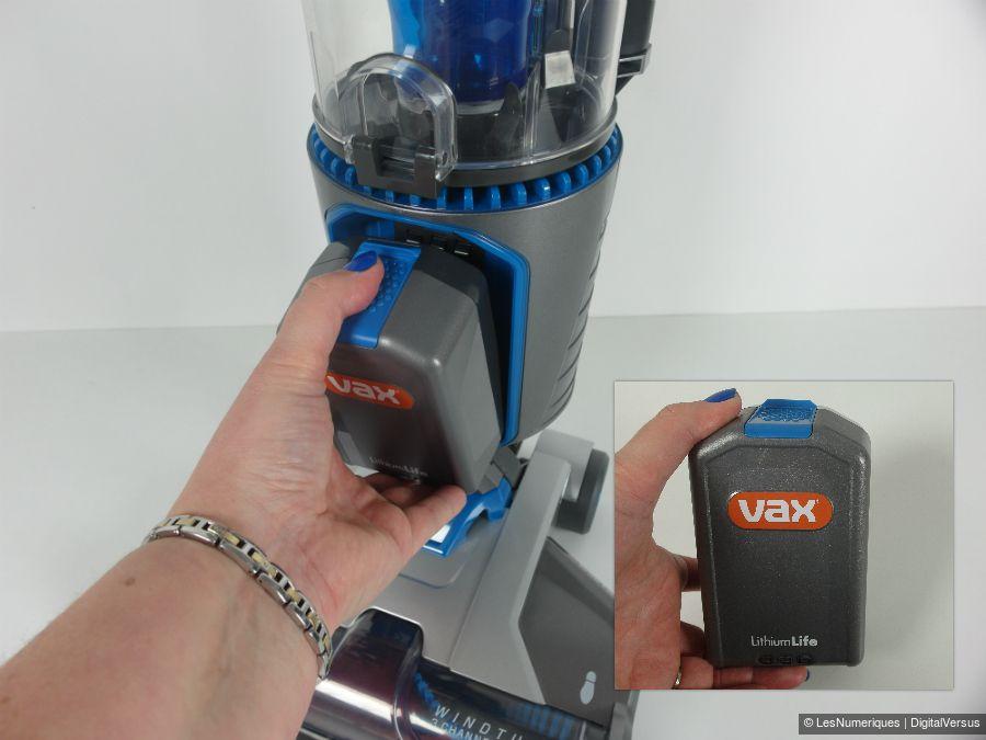 VaxAirCordless batterie