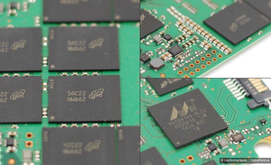 Crucial mx200 1tb components