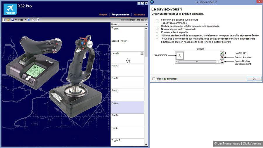 Saitek X52 Pro Editeur Smart Technology 900px