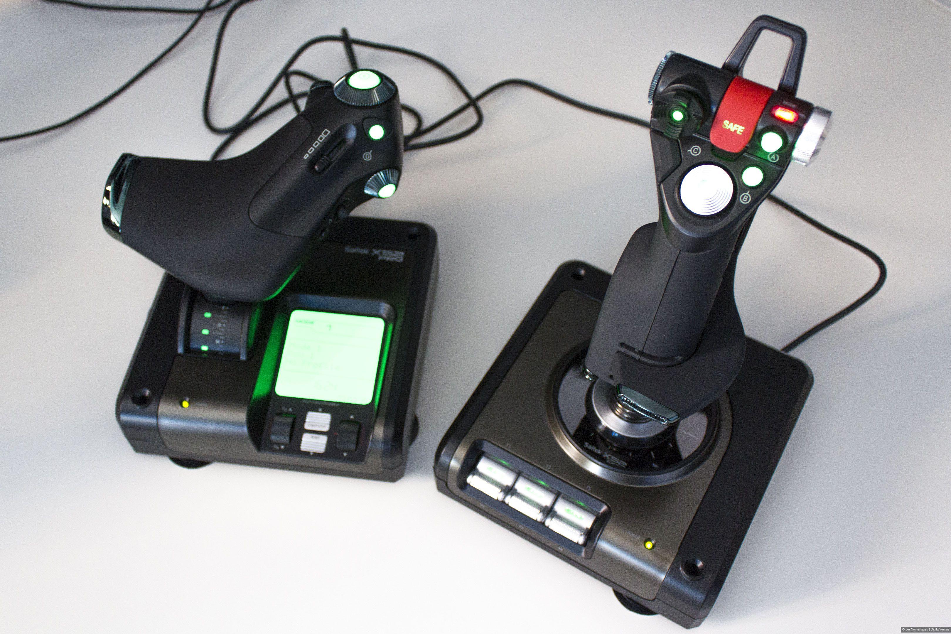 bfcd62e1222 Saitek X52 Pro : test, prix et fiche technique - Joystick - Les ...