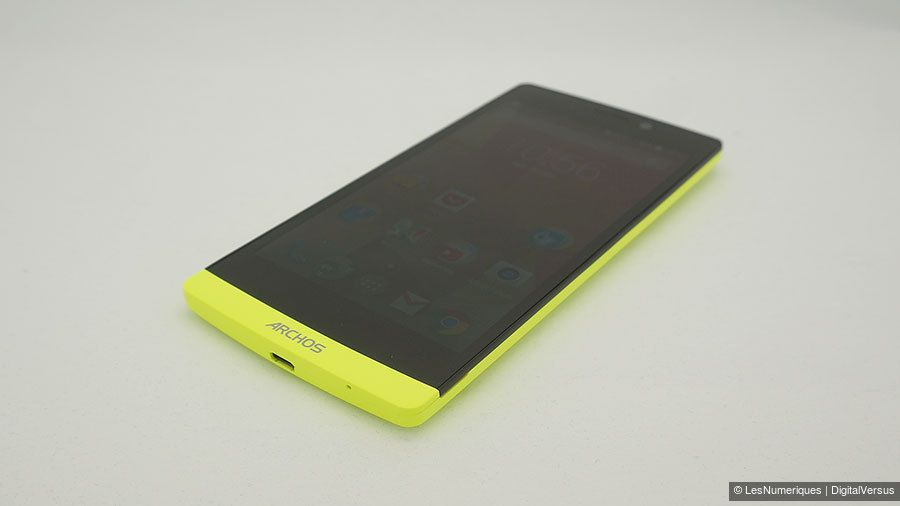 Test du Archos 50 Diamond