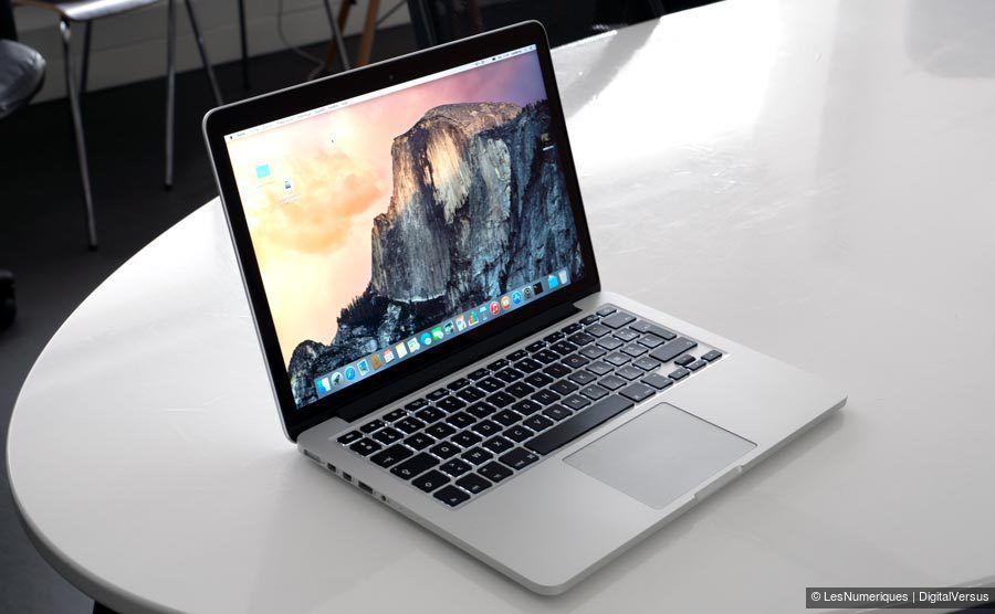 apple macbook pro 13 3 pouces 2015 test complet. Black Bedroom Furniture Sets. Home Design Ideas