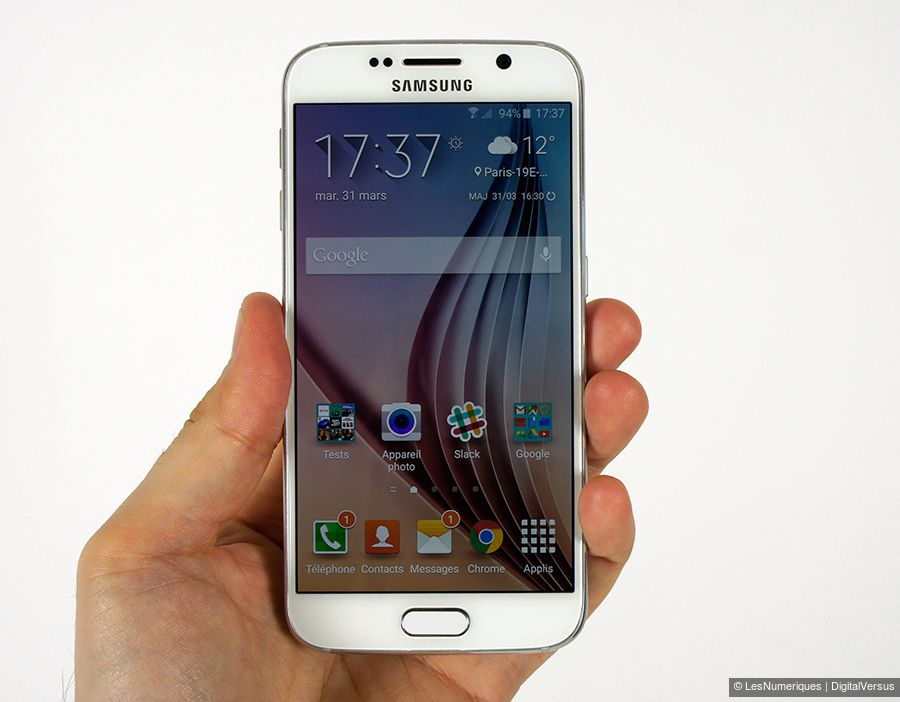 Samsung Galaxy S6 : Test complet - Smartphone