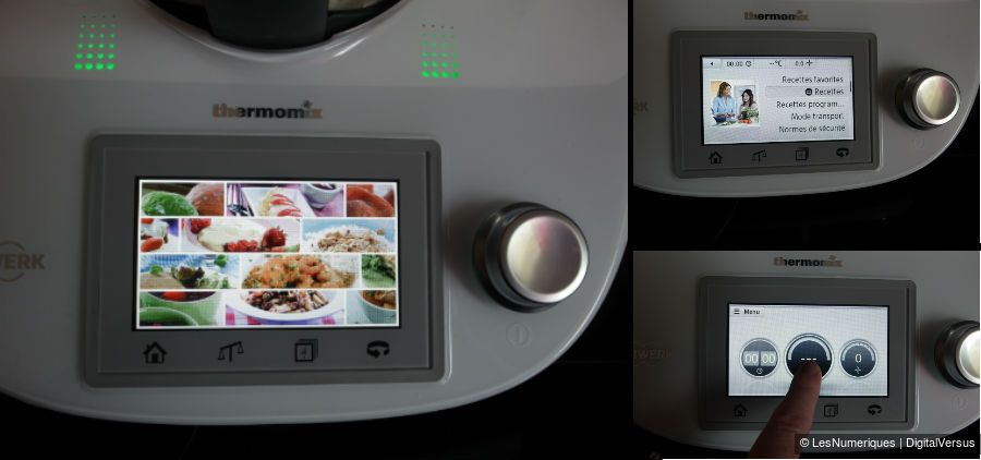 ThermomixTM5 ecran