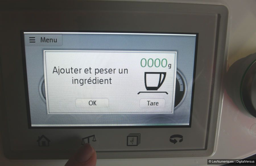 ThermomixTM5 fonction tare