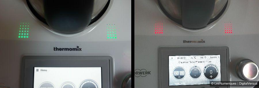 ThermomixTM5 voyants colores