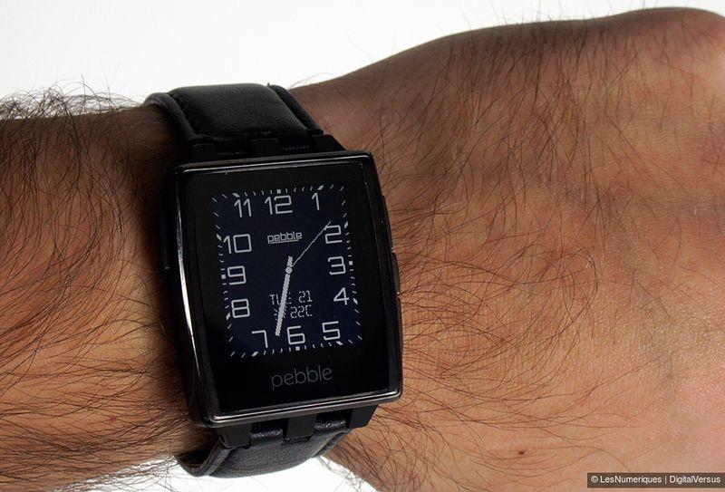 Test Pebble Steel, la montre connectée qui va à l'essentiel