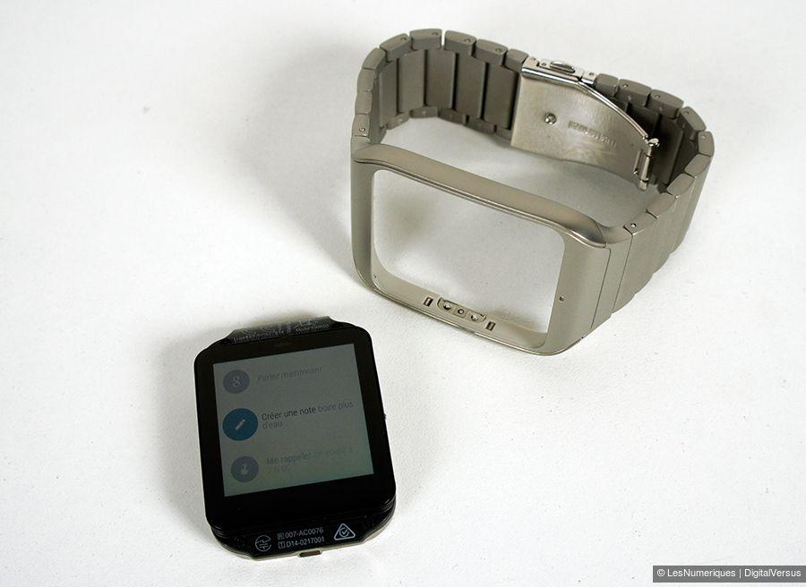 sony smartwatch 3 acier test complet montre connect e les num riques. Black Bedroom Furniture Sets. Home Design Ideas