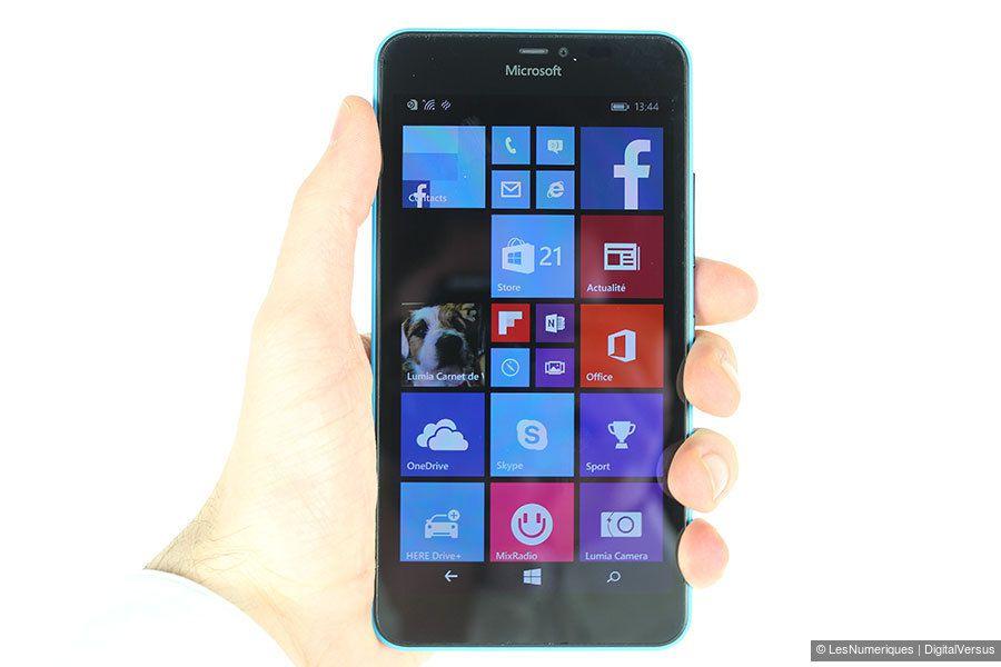 Microsoft lumia 640 xl test complet smartphone les for Photo ecran lumia 640