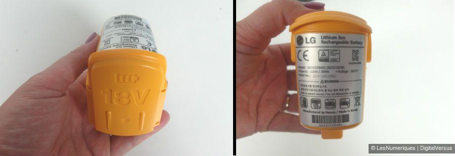 LGCordZero balai batterie