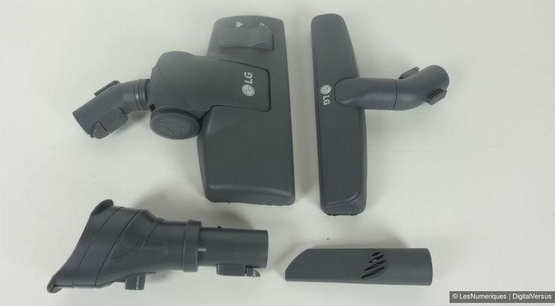 Test LG CordZero VWR514SA, le premier aspirateur traîneau