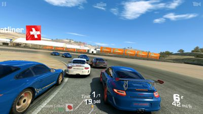 Sony Xperia M4 Aqua Real Racing 3