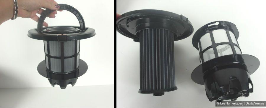 BoschRelaxxx filtre lamelles