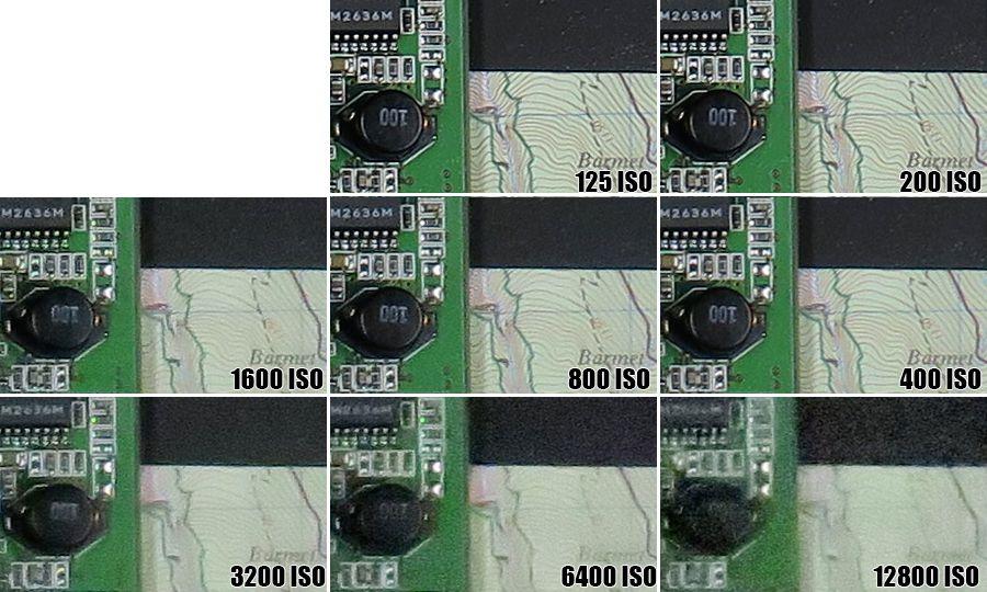 Canon G3X ISO 12800