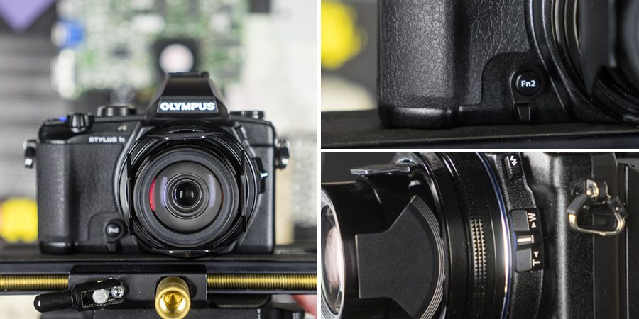 Olympus stylus 1s focus fonctions