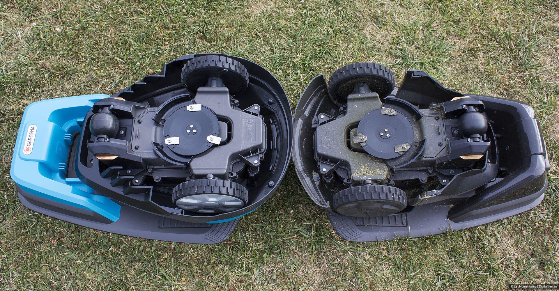 Gardena r40li test complet tondeuse gazon les num riques - Tondeuse a gazon automatique ...