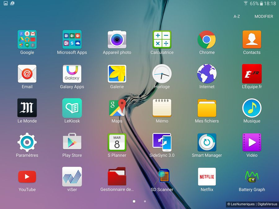 samsung note 5 application manager