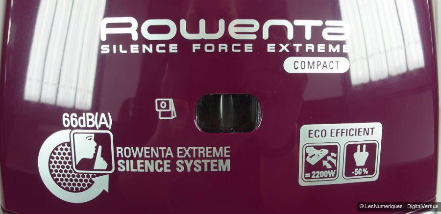 RowentaSFE RO5927EA indicateur bac plein