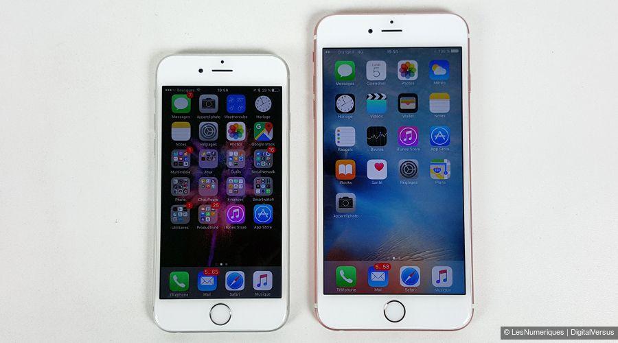 Apple iPhone 6s Plus   test, prix et fiche technique - Smartphone ... 3556703b1846