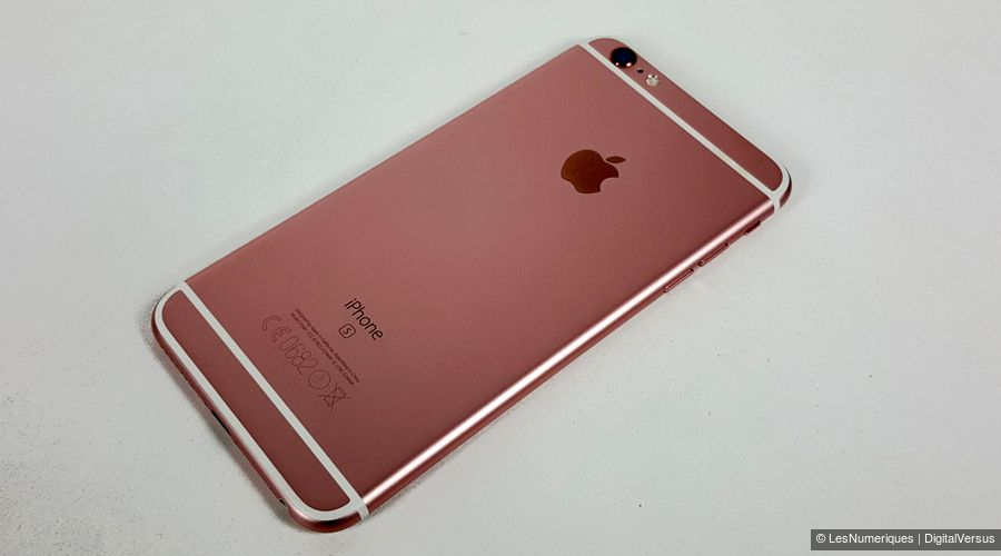 apple iphone 6s plus test prix et fiche technique smartphone les num riques. Black Bedroom Furniture Sets. Home Design Ideas