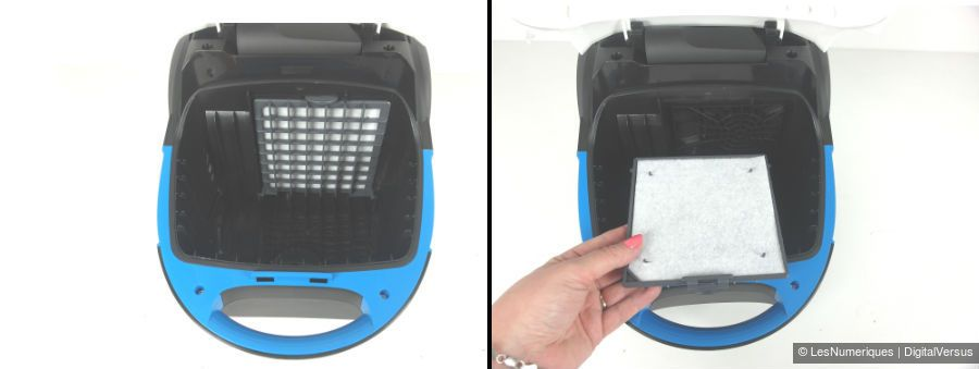 PhilipsPerformerCompact filtre avant moteur