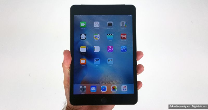 réflexions sur boutique de sortie super promotions Apple iPad Mini 4
