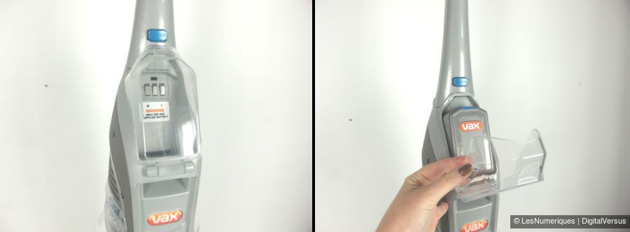 Vax Floormate cache batterie