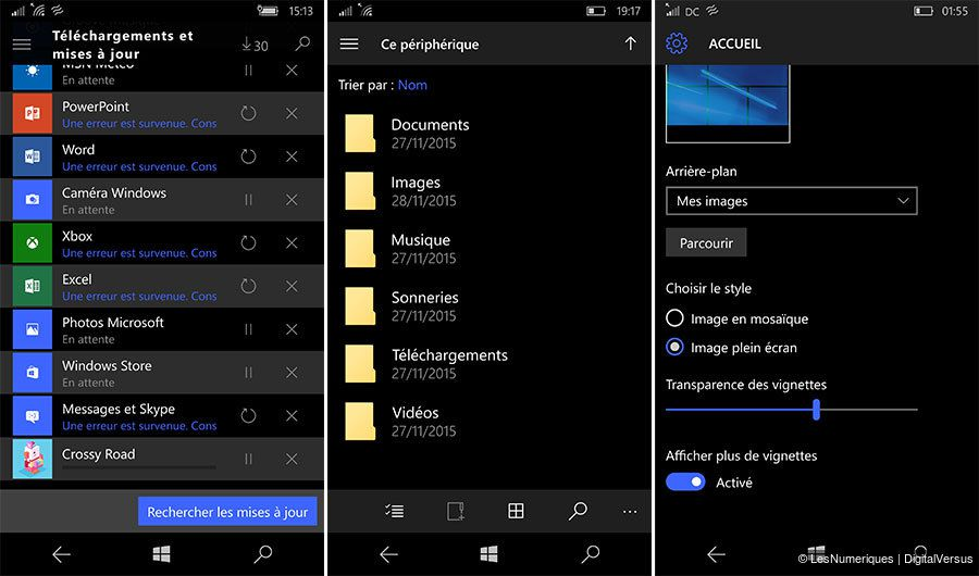 Test nokia lumia 950 os 4