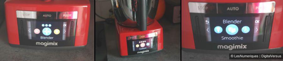 Magimix Cook Expert menu