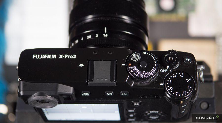 Fujifilm X-Pro2 Top