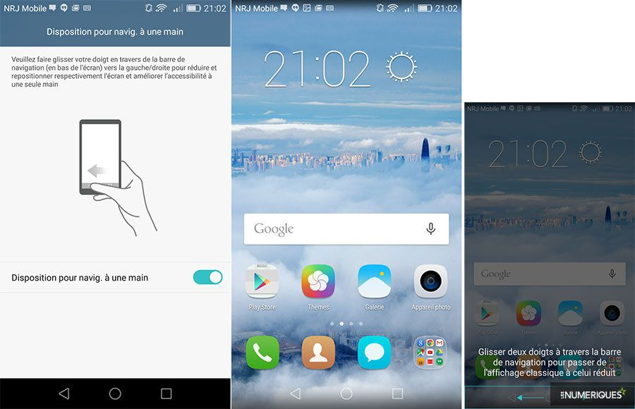 Test honor 5x os usage une main