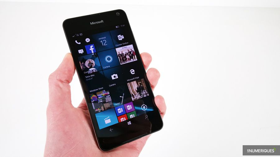 Microsoft Lumia 650 : Test complet - Smartphone