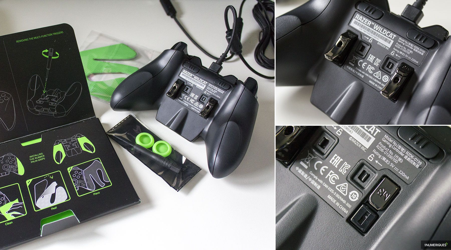 Razer Wildcat Test Complet Joypad Les Numriques Gaming Controller For Xbox One Rz06 01390100 R3m1 02