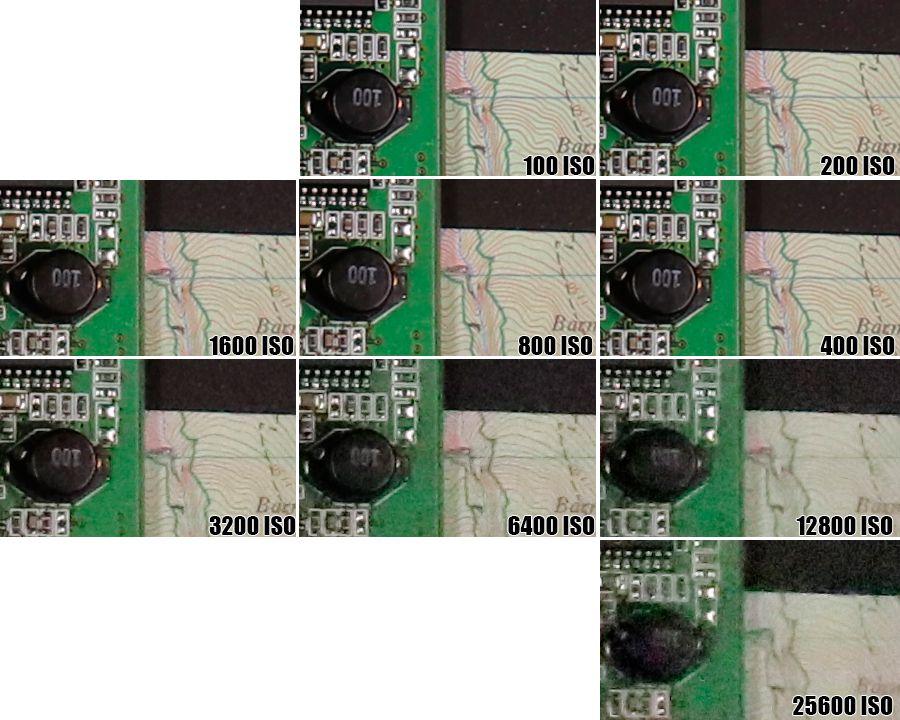 Canon Powershot EOS 80 ISO 25600
