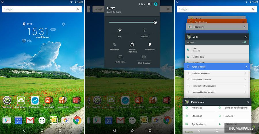 Test acer iconia one 8 os 1
