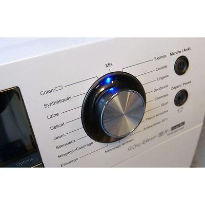 Lave-linge Hisense WFEH9014VA: peu aquavore, peu énergivore