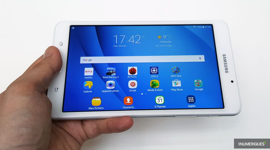 Test Tablette Samsung A6 Car Design Today