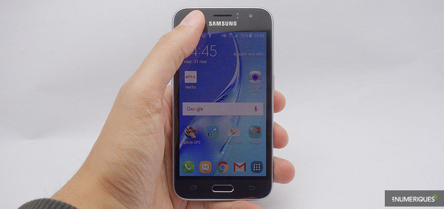 Test samsung galaxy j1 2016 7