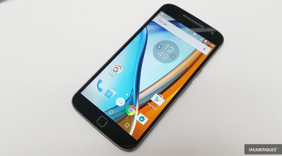 Test lenovo moto g4 plus face