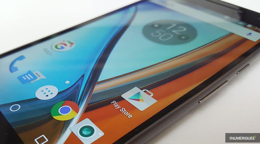 Lenovo moto g4 test complet smartphone les num riques for Photo ecran moto g