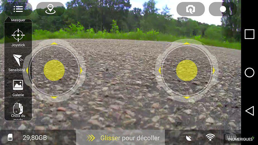 Drone Cicada Plus PNJ Elanview application