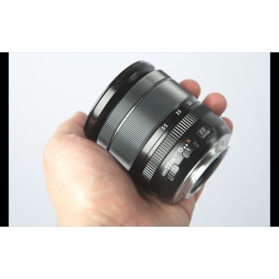 Fujifilm Fujinon XF18-55mm F2.8-4 R LM OIS: une belle construction