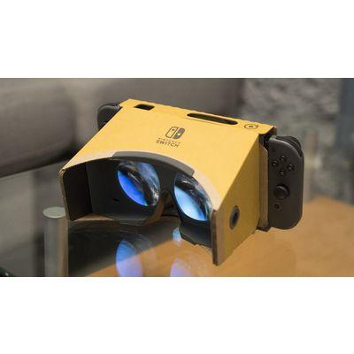 Nintendo Labo VR: pour Nintendo, la réalité virtuelle n'est qu'un prétexte
