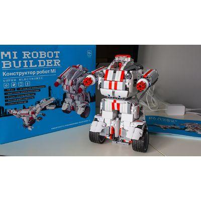 Xiaomi Mi Robot Builder: le robot 3-en-1 en kit