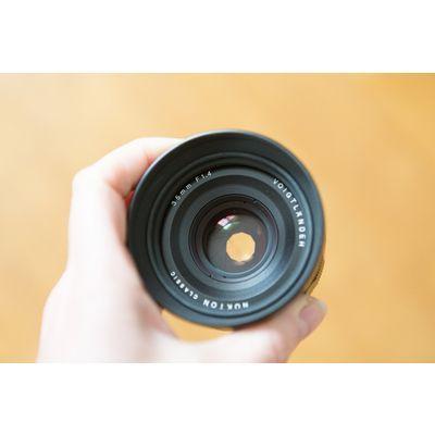 Voigtländer Nokton Classic 35mm f/1,4 E: objectif en demi-teinte