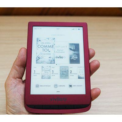 Vivlio Touch Lux 4: une liseuse aux multiples réglages